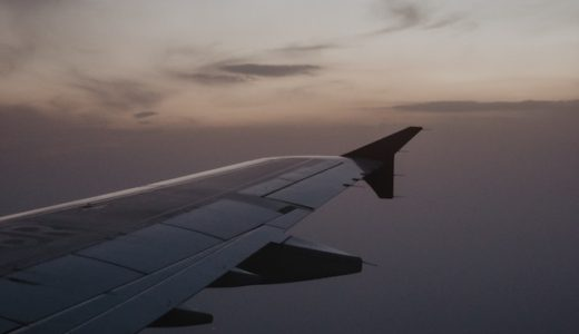 my wedding report 〜飛行機の中で寝るために〜